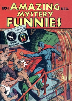 Amazing Mystery Funnies 12