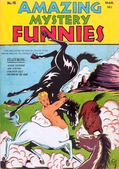 Amazing Mystery Funnies 18