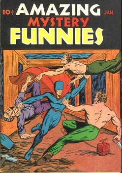 Amazing Mystery Funnies 1