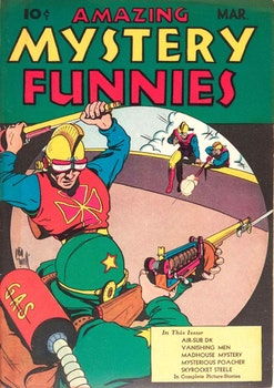 Amazing Mystery Funnies 3