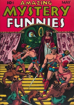 Amazing Mystery Funnies 5