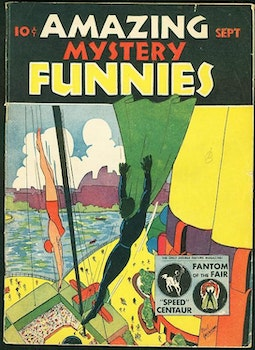 Amazing Mystery Funnies 9