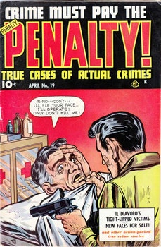 Crime must pay the price 19