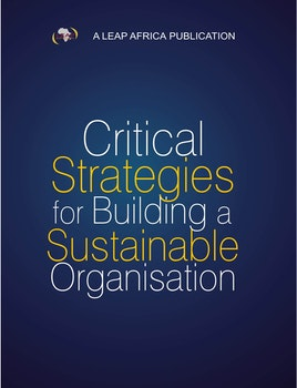 Critical Strategies for Building a Sustainable Organization