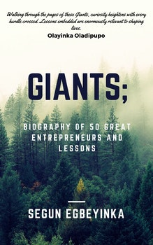 Giants: Biography of Fifty Great Entrepreneurs and Lessons