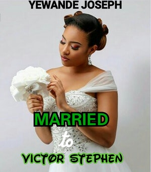 Married to Victor Stephen
