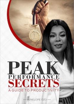 Peak Performance Secrets: A Guide to Productivity