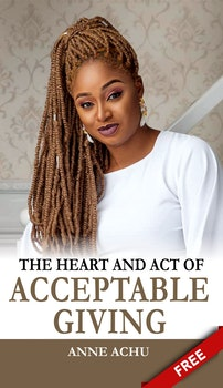 The Heart and Act of Acceptable Giving