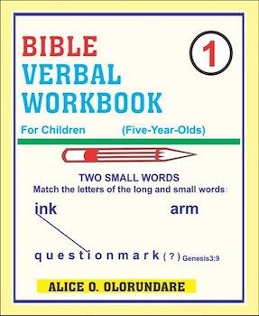 Bible Verbal Workbook